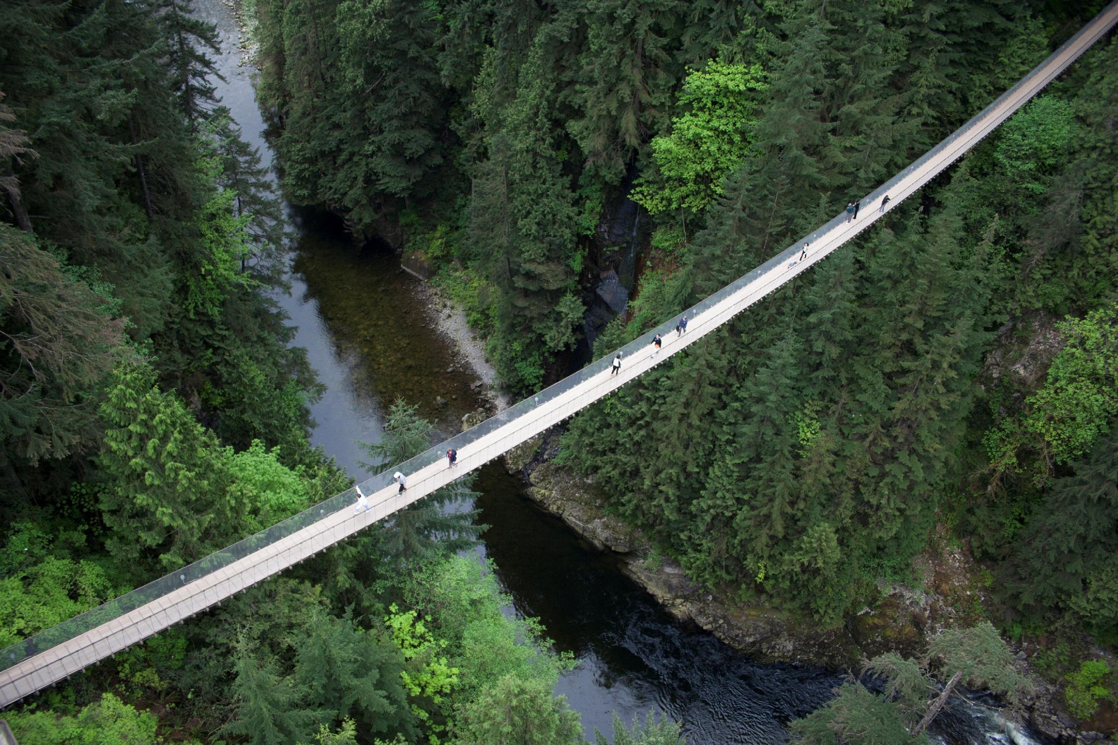 卡佩兰奴吊桥| | 卡佩兰奴吊桥|