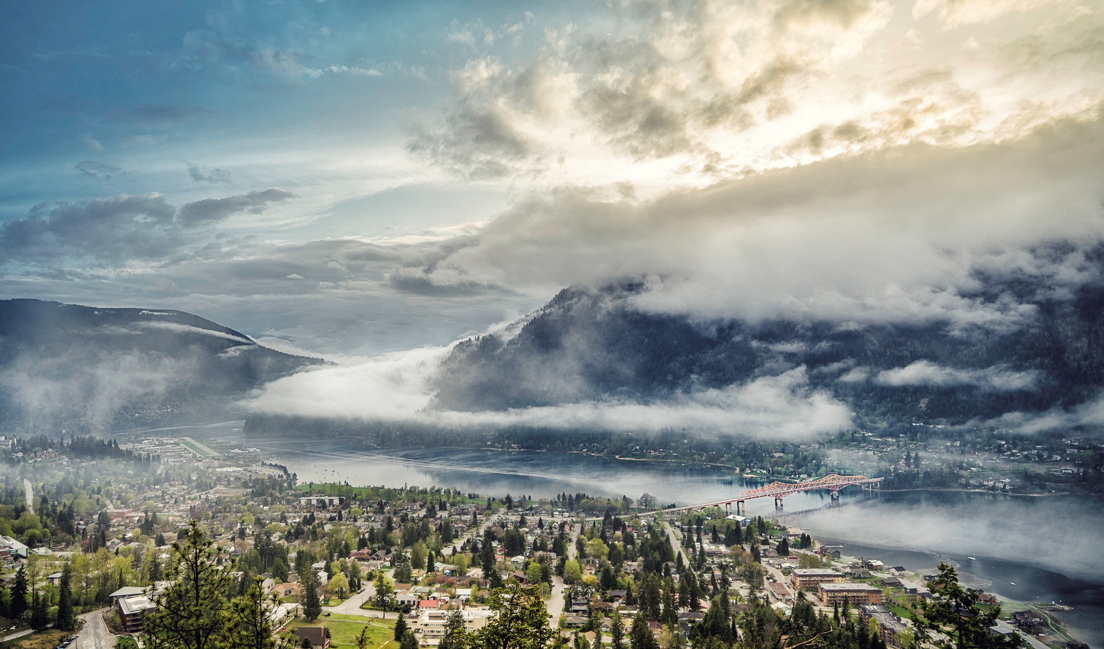 Nelson View of Nelson and Kootenay Lake | Ryan Dury